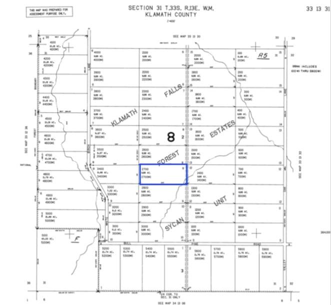 Klamth County Land Map View - APXN Property