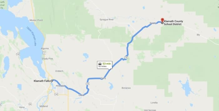 Land Direction on Google Map