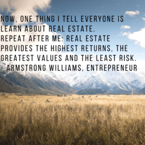 Learn About the Real Estate | Real Estate Provides the Highest Return