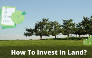 How to invest in land?