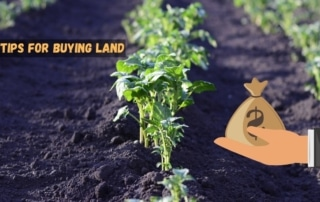 Tips for buying land