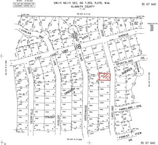 0.22 Acres, Klamath, Oregon, 09600 - Land Map