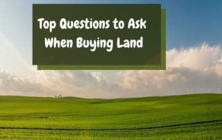 Top Questions to Ask When Buying Land Gallery Top Questions to Ask When Buying Land Top Questions to Ask When Buying Land