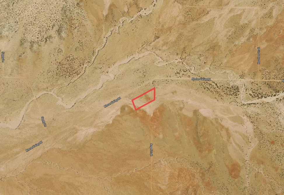 Arial View of Raw Land in Saint Johns, Arizona
