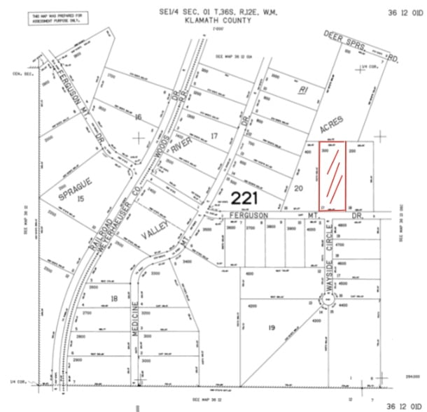 3.02 Acres, Cheap Raw Land For Sale in Chiloquin Oregon,