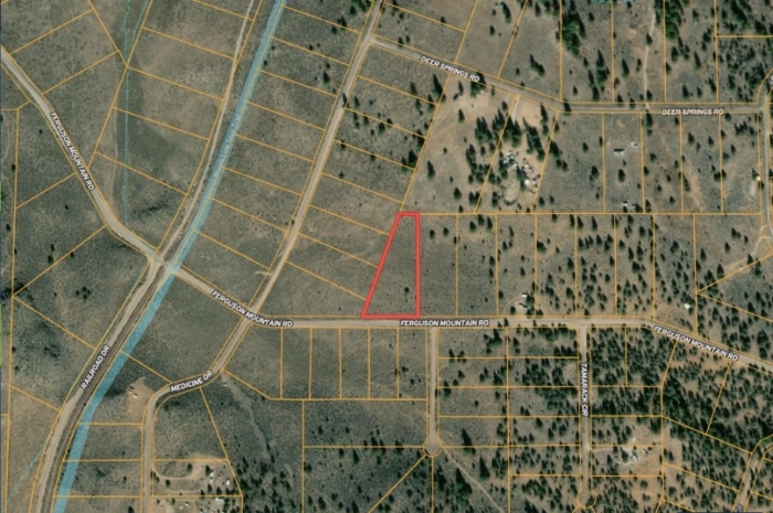2.82 Acres, Farm Vacant Land for sale in Chiloquin Oregon