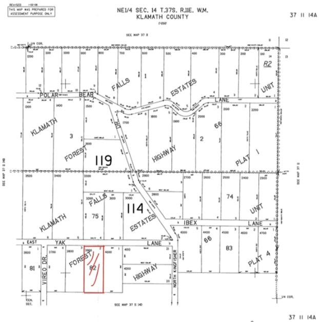 2.32 Acres Vacant Forest Land Bonanza Oregon