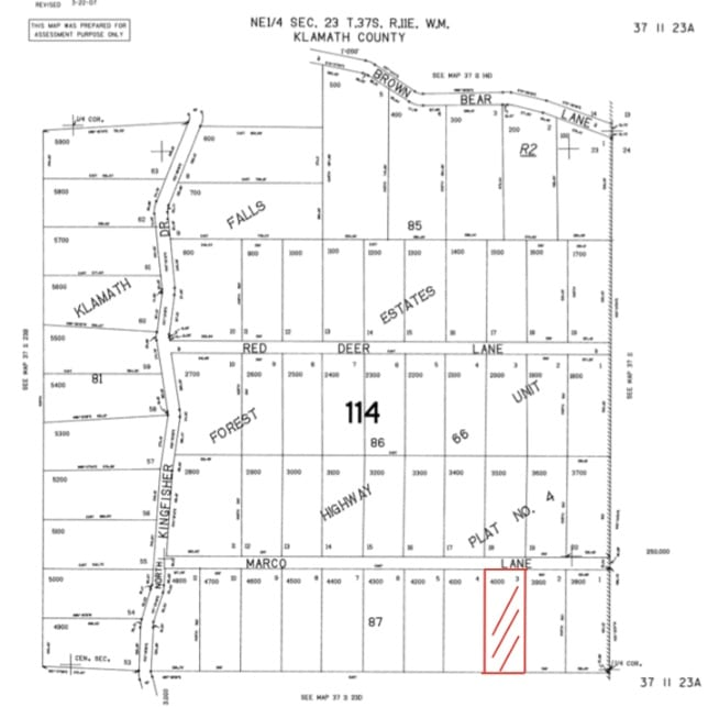 2.45 Acres, Raw Forest Land Chiloquin Oregon