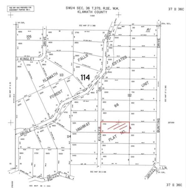 2.68 Acres, Land for sale Bonanza Oregon