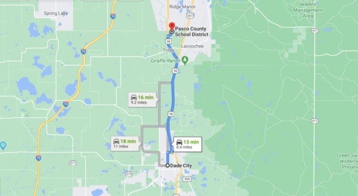 1.37 Raw Land Dade City, Florida