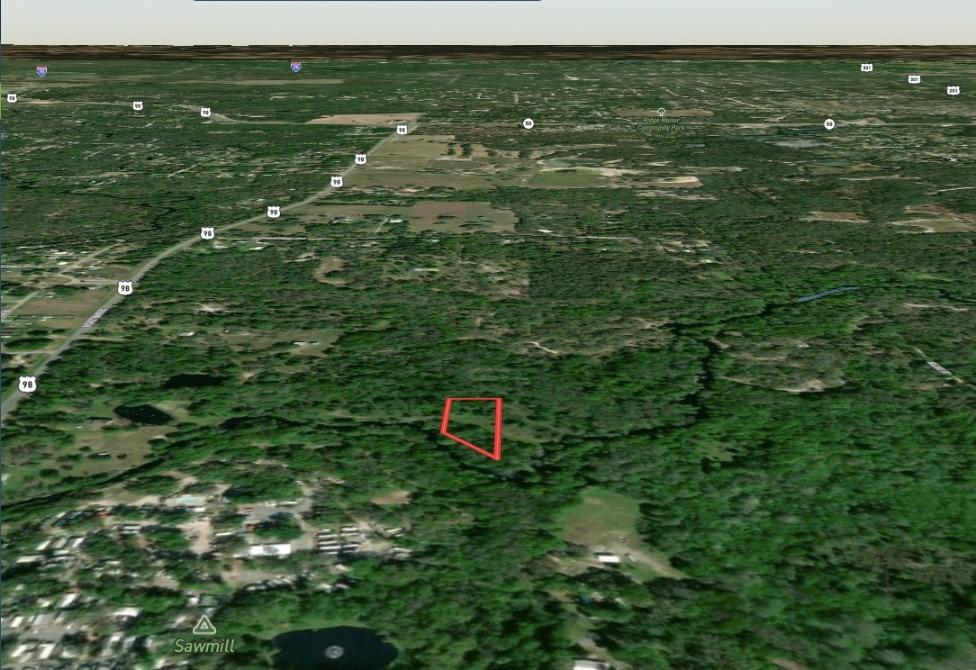 1.37 Acres Ariel View Dade City Florida