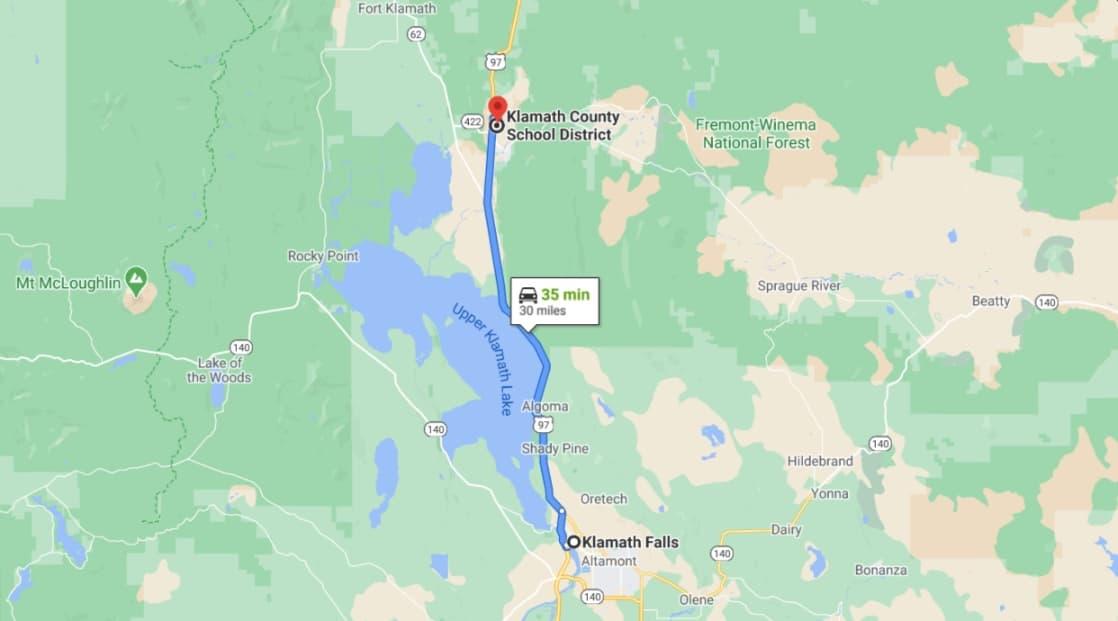 2.46 Acres, Off-Grid Land in Bonanza Oregon