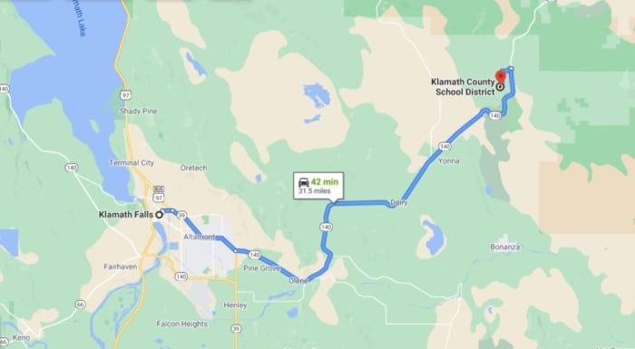 2.82 Acres, Farm Vacant Land Chiloquin Oregon