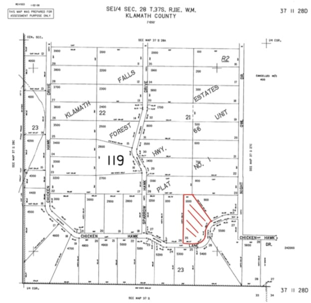 2.68 Acres, Mapping Raw Land in Bonanza Oregon