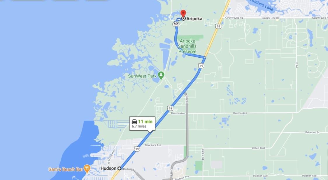 1.72 Acres, Off-Grid Land in Hudson FL