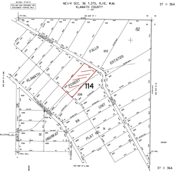 4.45 Acres,clear mapping land Bonanza OR