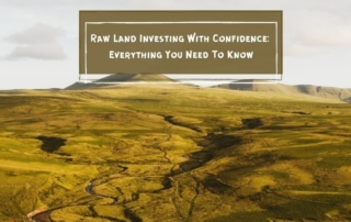 Raw land investing with confidence