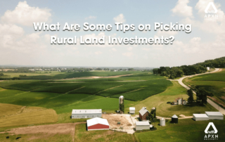 What Are Some Tips on Picking Rural Land Investments?